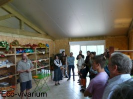 Construction de l'eco-vivarium: innoguration